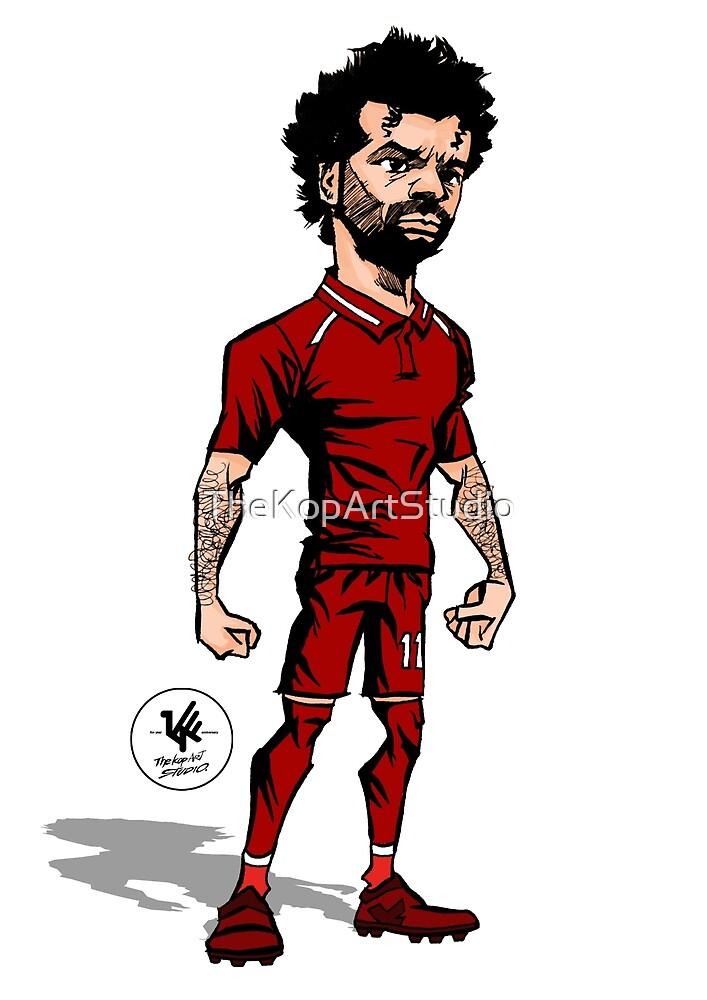 Mohamed Salah by TheKopArtStudio