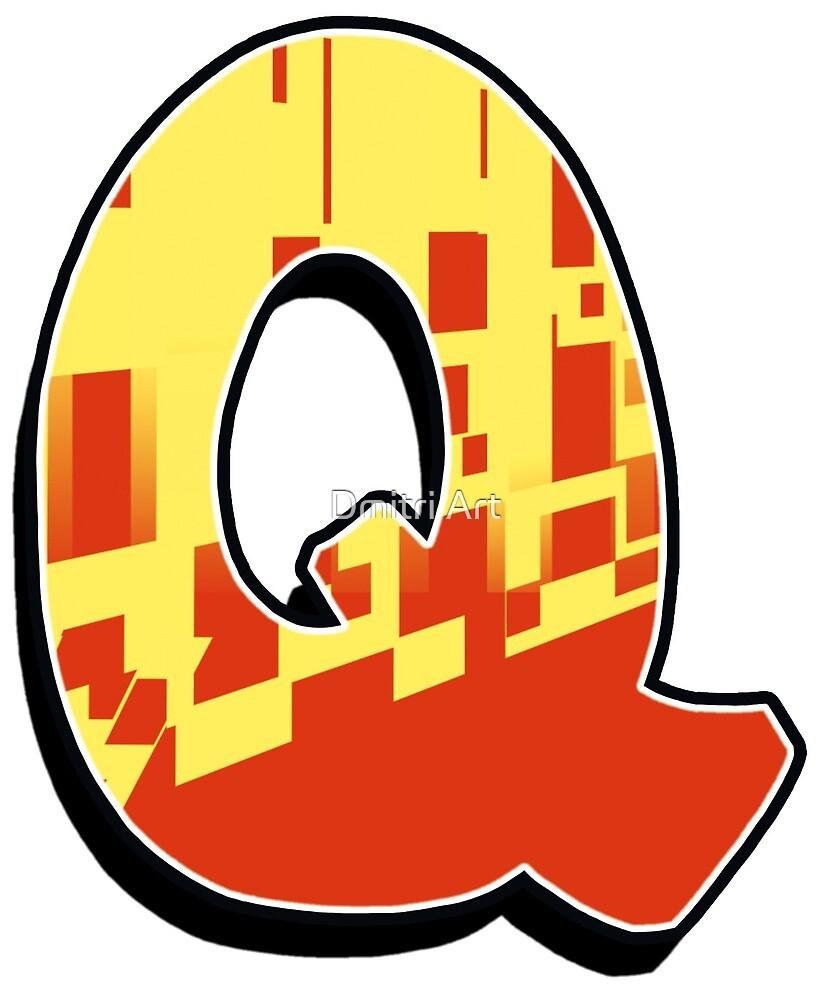 Q - blocky by paintcave