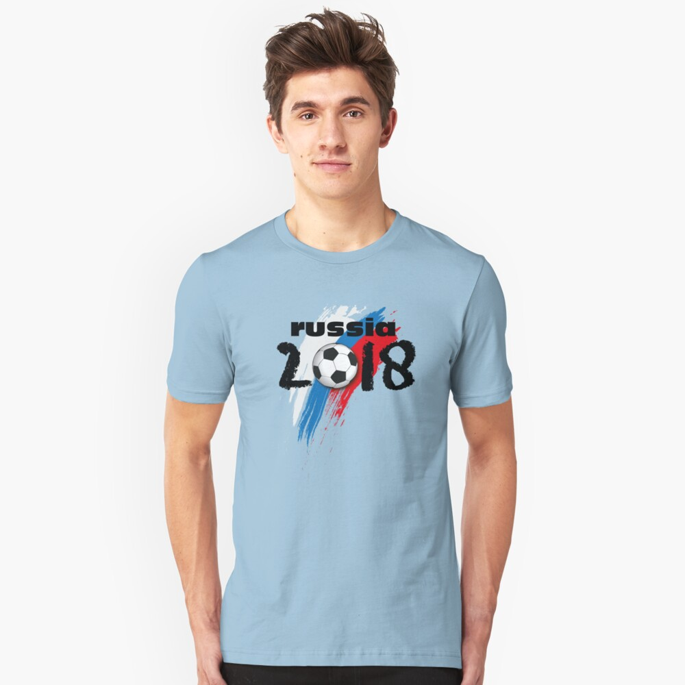 Russia 2018 Unisex T-Shirt Front
