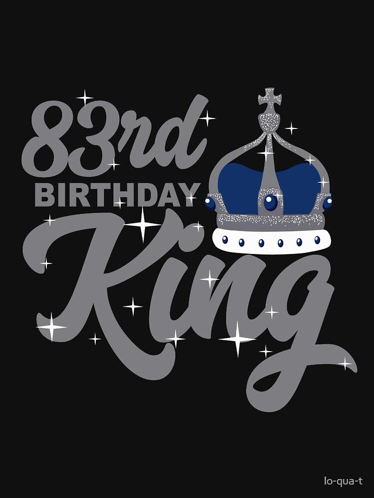 Birthday King 83 by lo-qua-t
