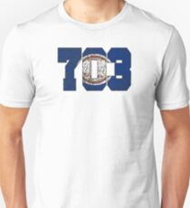 ALWAYS REPPIN' THE 703 Unisex T-Shirt