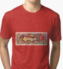 Zentangle Graphism Tri-blend T-Shirt