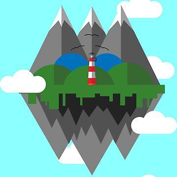 Fun Floating Island Design by Jake1515