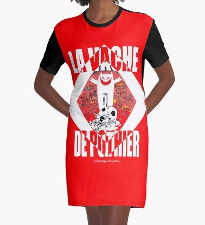 La vache de Pothier Robe t-shirt