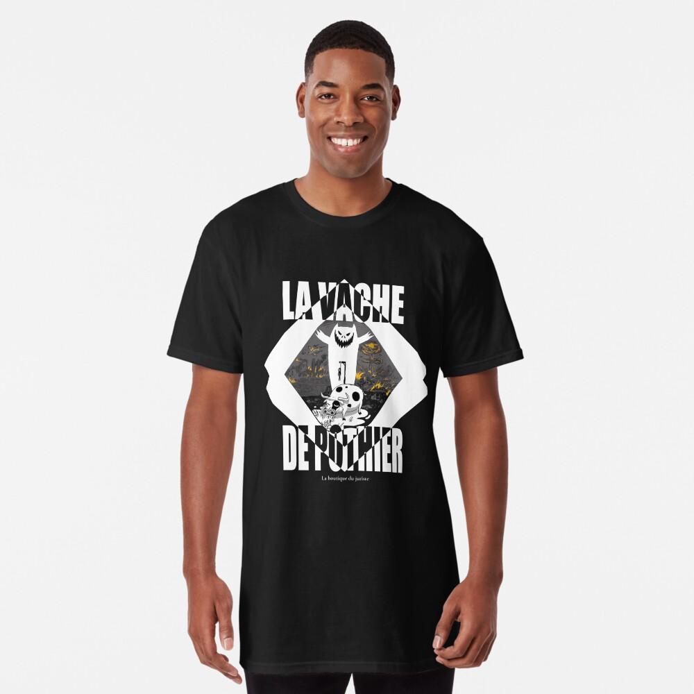 T-shirt long «La vache de Pothier»