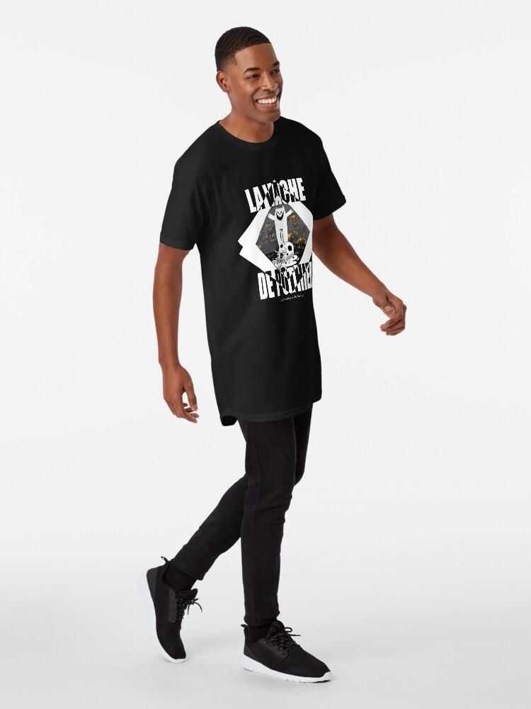 T-shirt long ''La vache de Pothier': autre vue