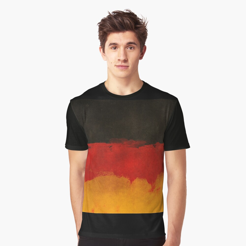 Germany - black red gold Graphic T-Shirt Front
