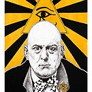 Aleister Crowley by Joanna  Sasso