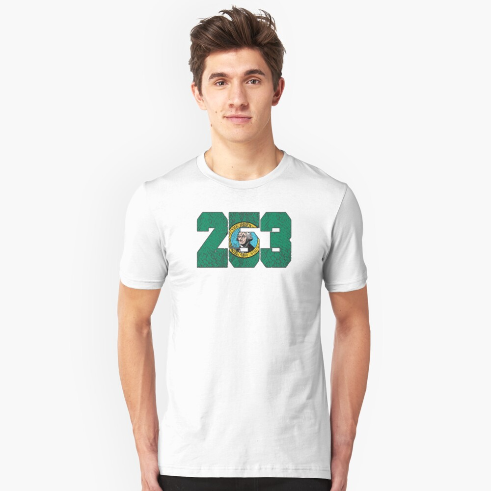 ALWAYS REPPIN' THE 253 Unisex T-Shirt Front