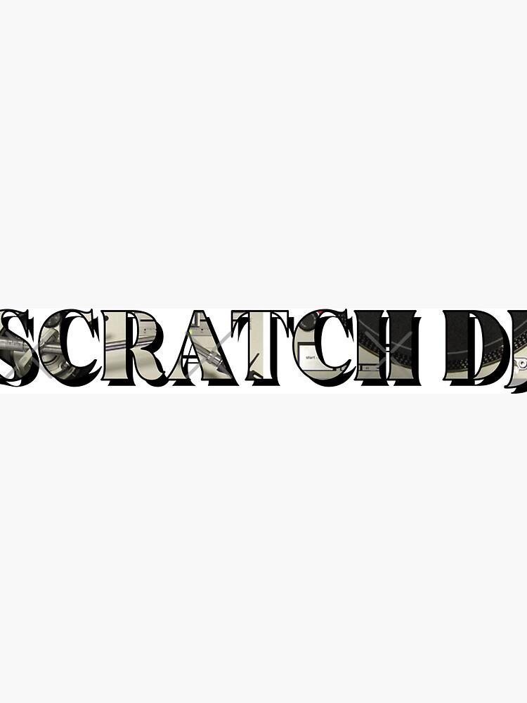 Scratch DJ Technics by PixelGrafter