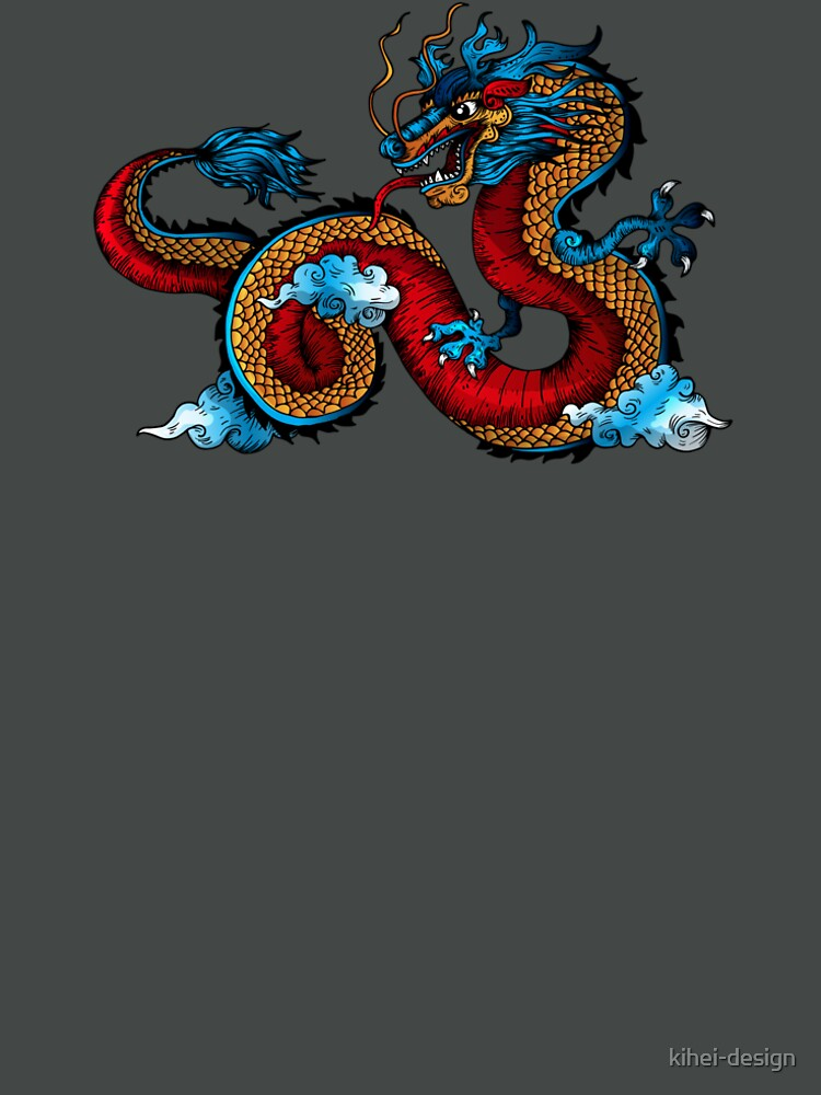 Dragon Tattoo by kihei-design