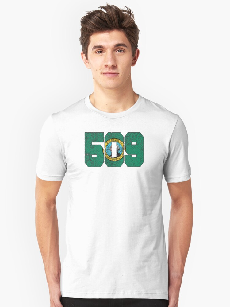 ALWAYS REPPIN' THE 509 Unisex T-Shirt Front