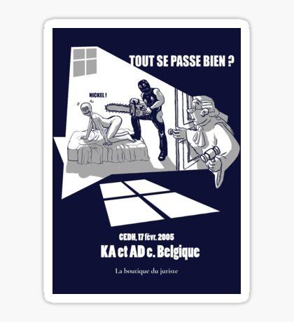 KA & AD Sticker