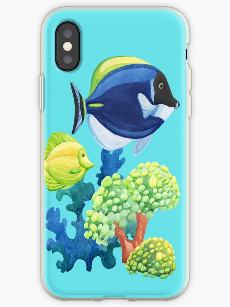 Tropical Fish Phone Covers by VaughnPhotos