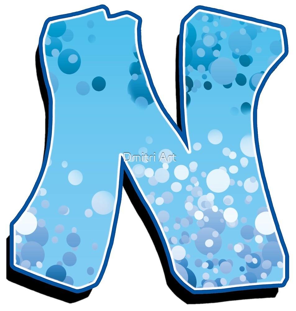 N - bubbles  by paintcave
