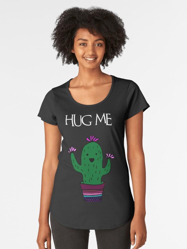 cactus Women's Premium T-Shirt Front