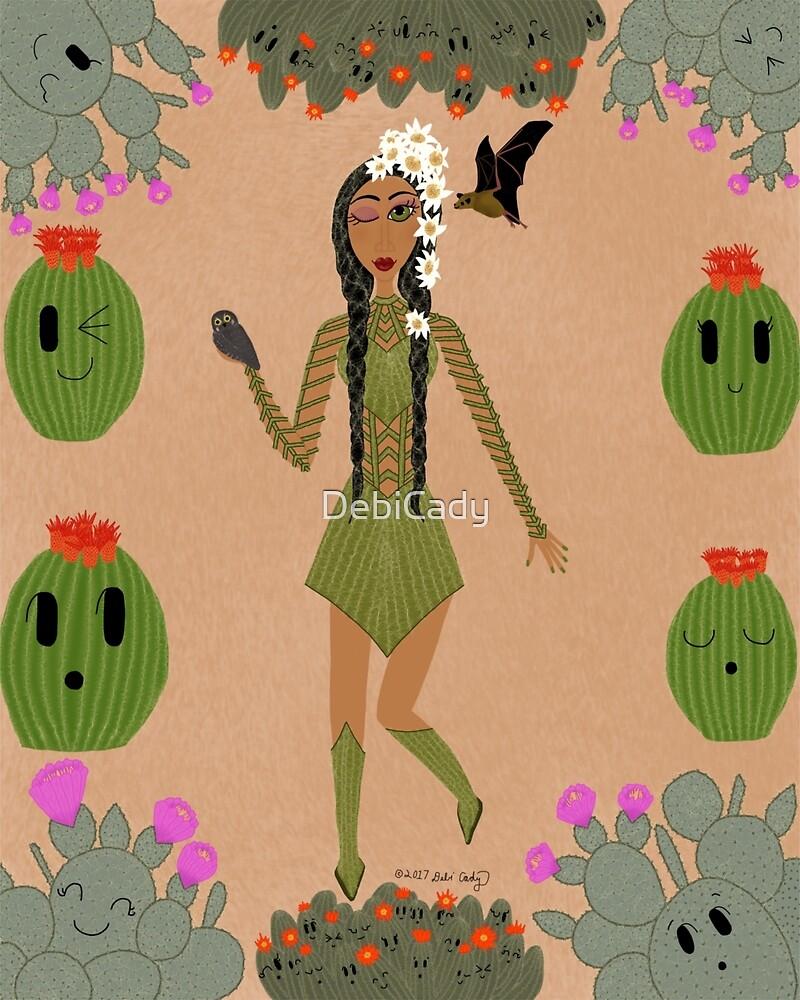 Sonoran Desert Cactus Faerie  by DebiCady