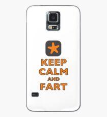 Keep Calm and Fart Case/Skin for Samsung Galaxy