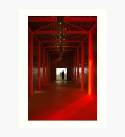 RED ENCOUNTERS Art Print