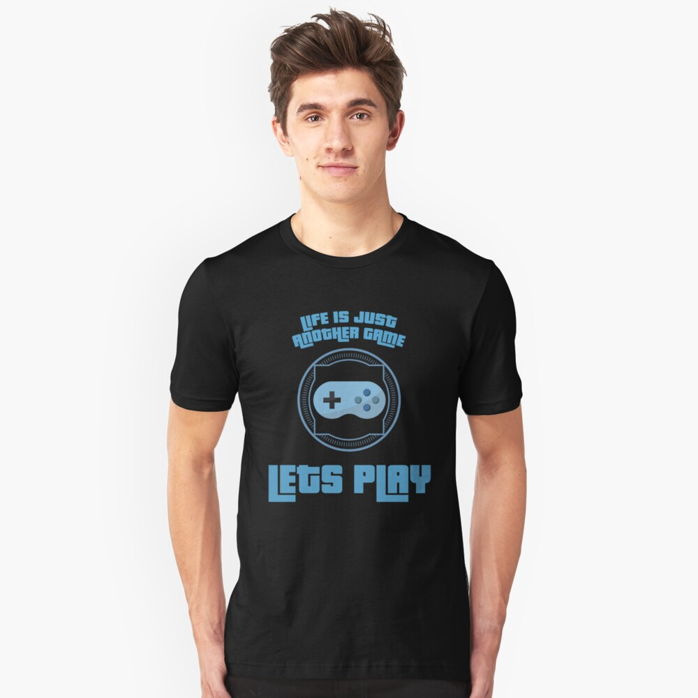 Let`s Play Unisex T-Shirt Front