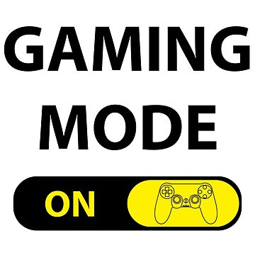 Gaming mode ON by studioivito