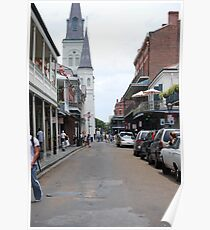 French Quarter, New Orleans, LA Poster
