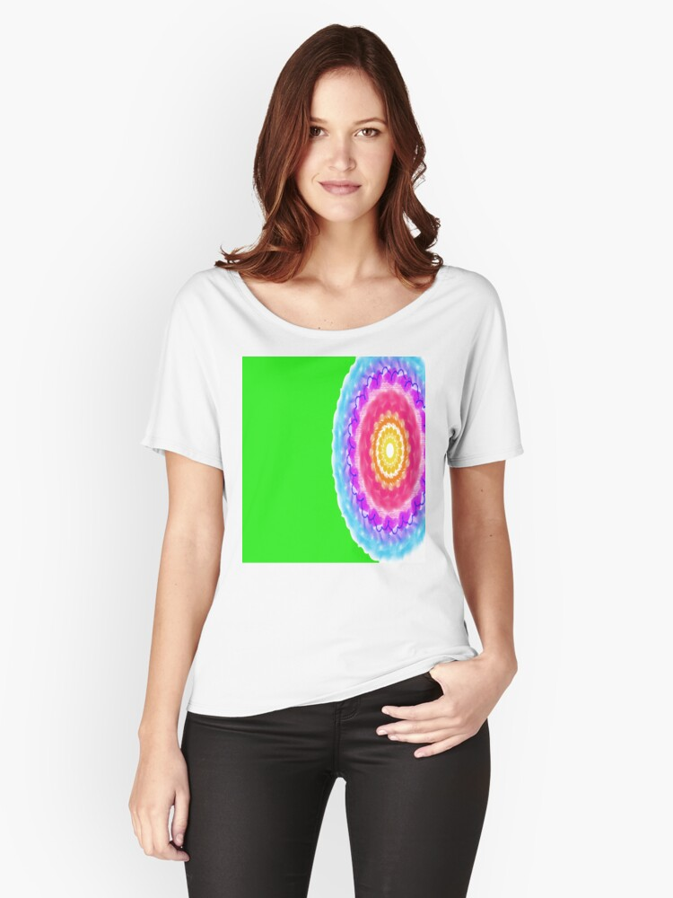 Circle Women's Relaxed Fit T-Shirt Front