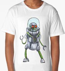 Retro robot Long T-Shirt