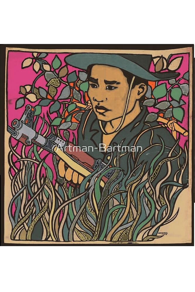 Vietnam Era Communist Propaganda by Artman-Bartman