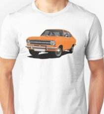Orange Opel Kadett B Coupe - illustration Unisex T-Shirt