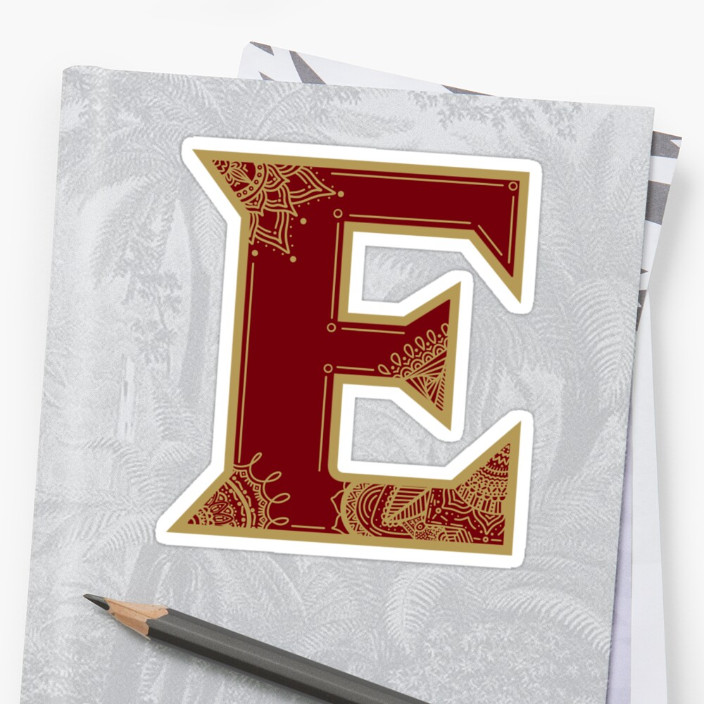Elon University by Stickers-By-Sam