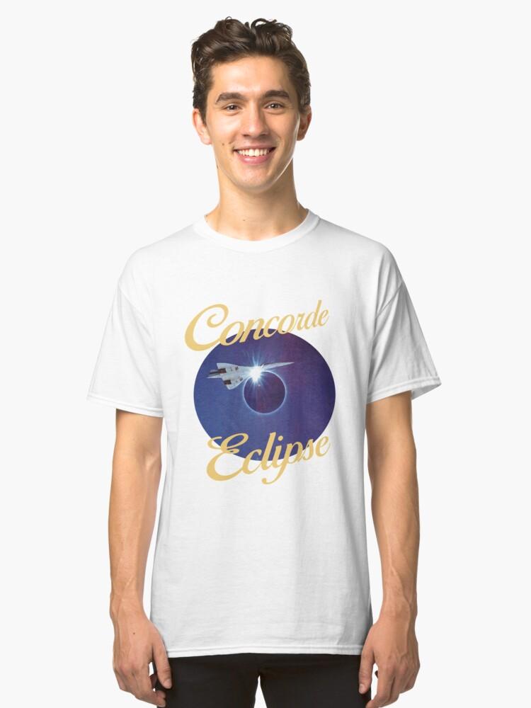 Concorde eclipse Classic T-Shirt Front