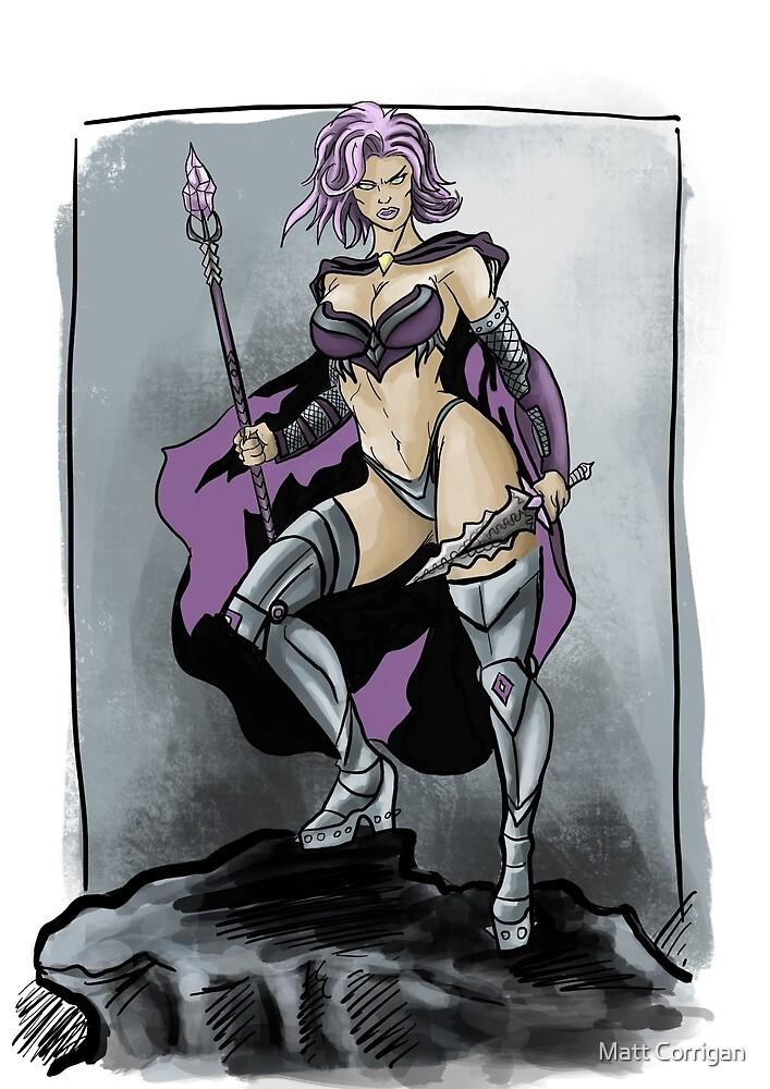 The Mage Queen by Matt Corrigan