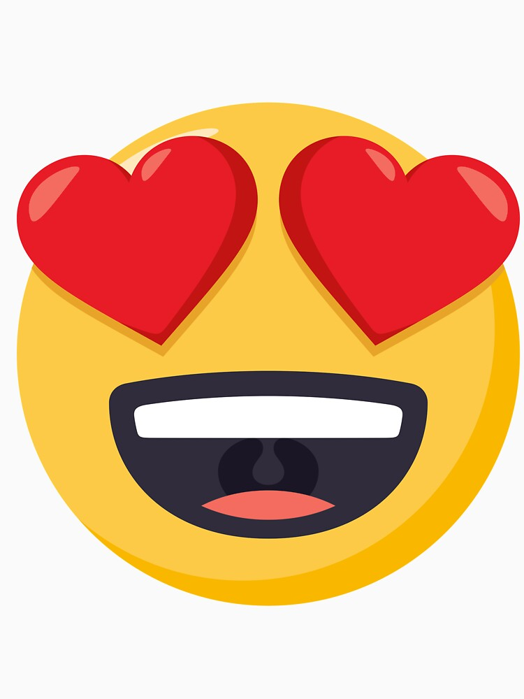 JoyPixels Smiling Face with Heart Eyes Emoji by joypixels