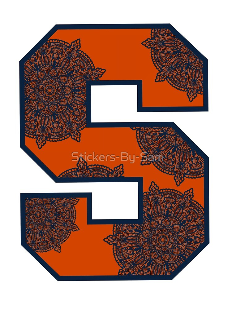 Syracuse University by Stickers-By-Sam
