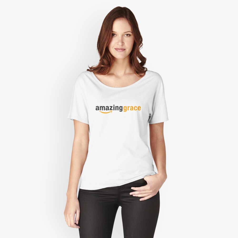 Amazing Grace Women's Relaxed Fit T-Shirt Front