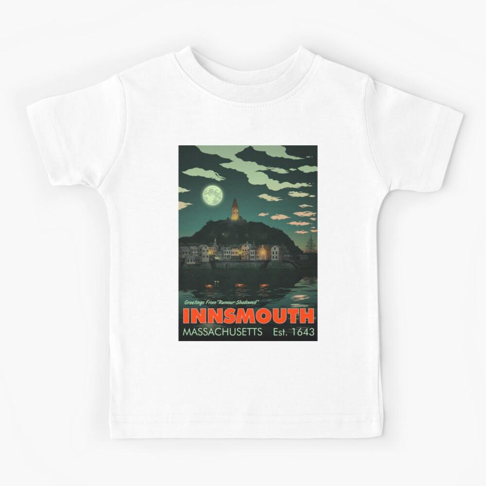 Greetings from Innsmouth, Mass Kids T-Shirt