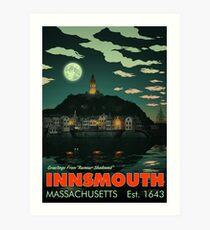 Greetings from Innsmouth, Mass Art Print