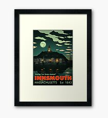 Greetings from Innsmouth, Mass Framed Print