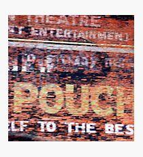 Entertainment Photographic Print