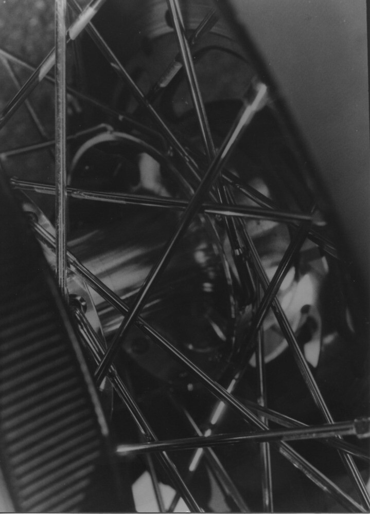Monochrome Aesthetic Tire Photograph by Karmamatsu