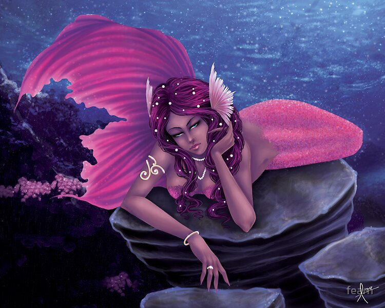 Mermaid Commission 2 by fearn