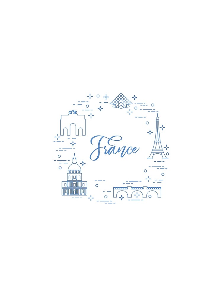 Famous buildings of Paris. Symbols and landmarks. by aquamarine-p