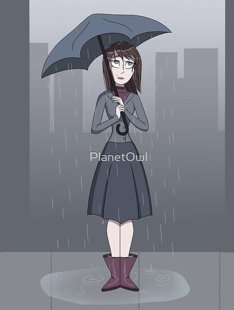 The Rainy Umbrella by PlanetOwl
