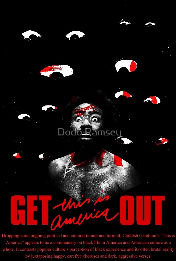 GET OUT - This is America 3 by Dodo Ramsey