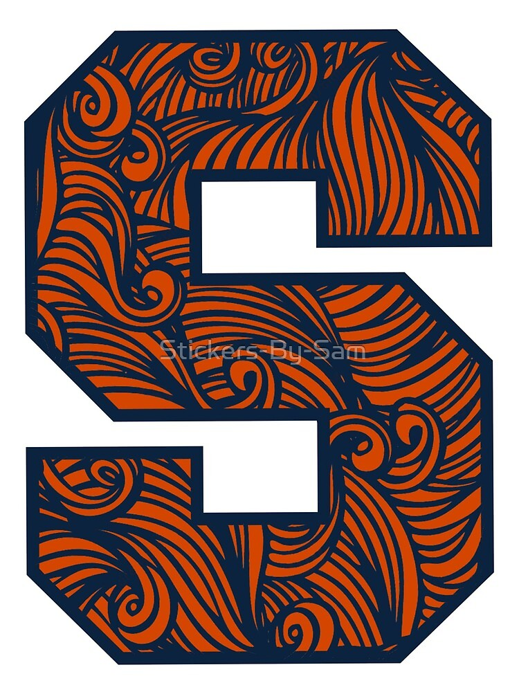 Syracuse University by Stickers-By-Sam