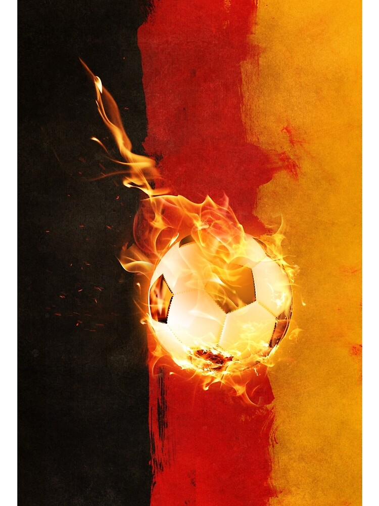 Germany soccer flag by ALeitenbacher