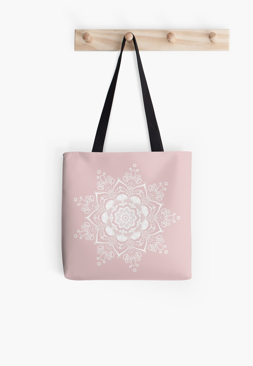 Tote-Bag Light Rose by Bluebdesigns