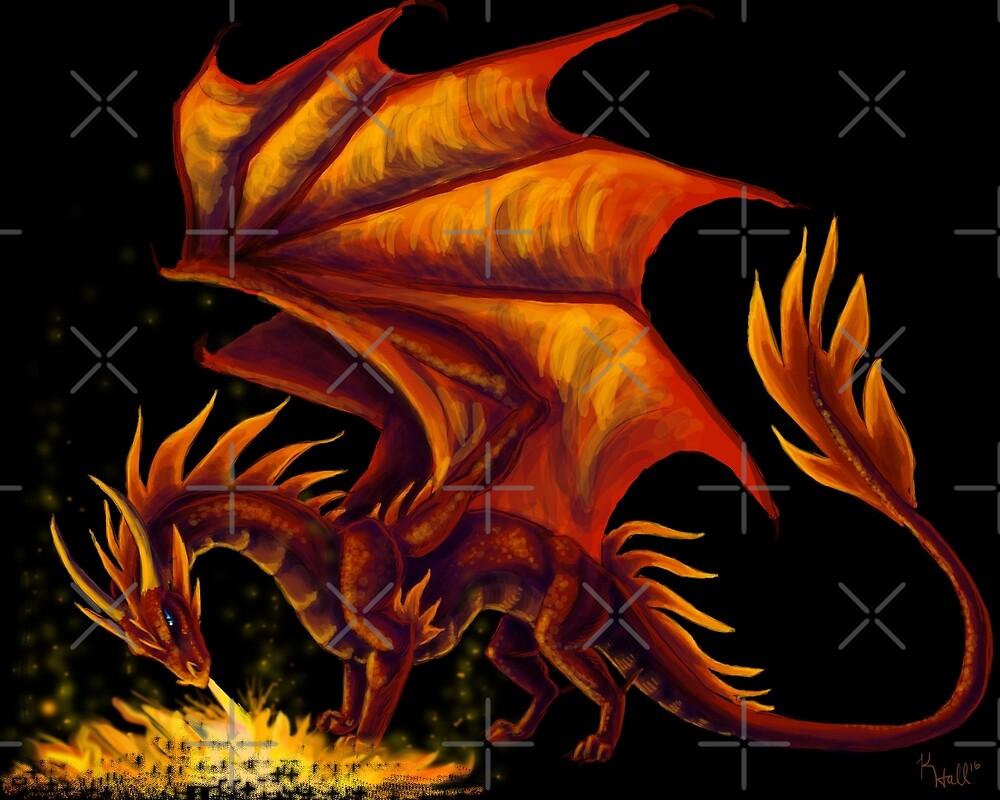 Pyro Dragon by Unicornarama