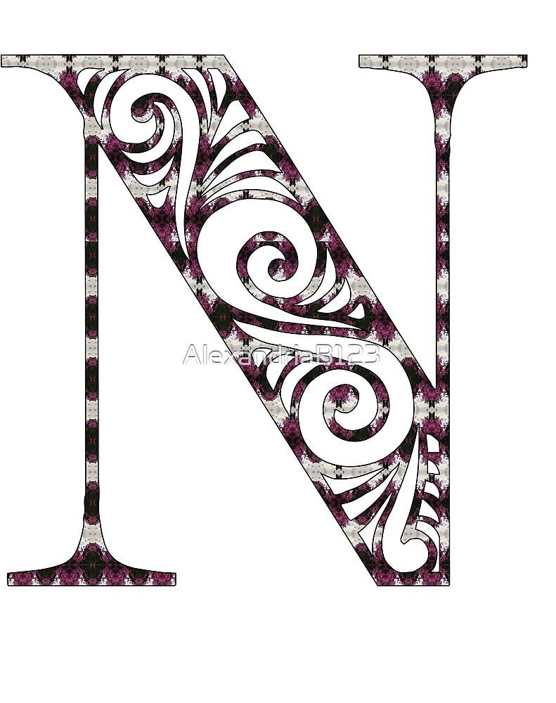 Initial- N by AlexandriaB123